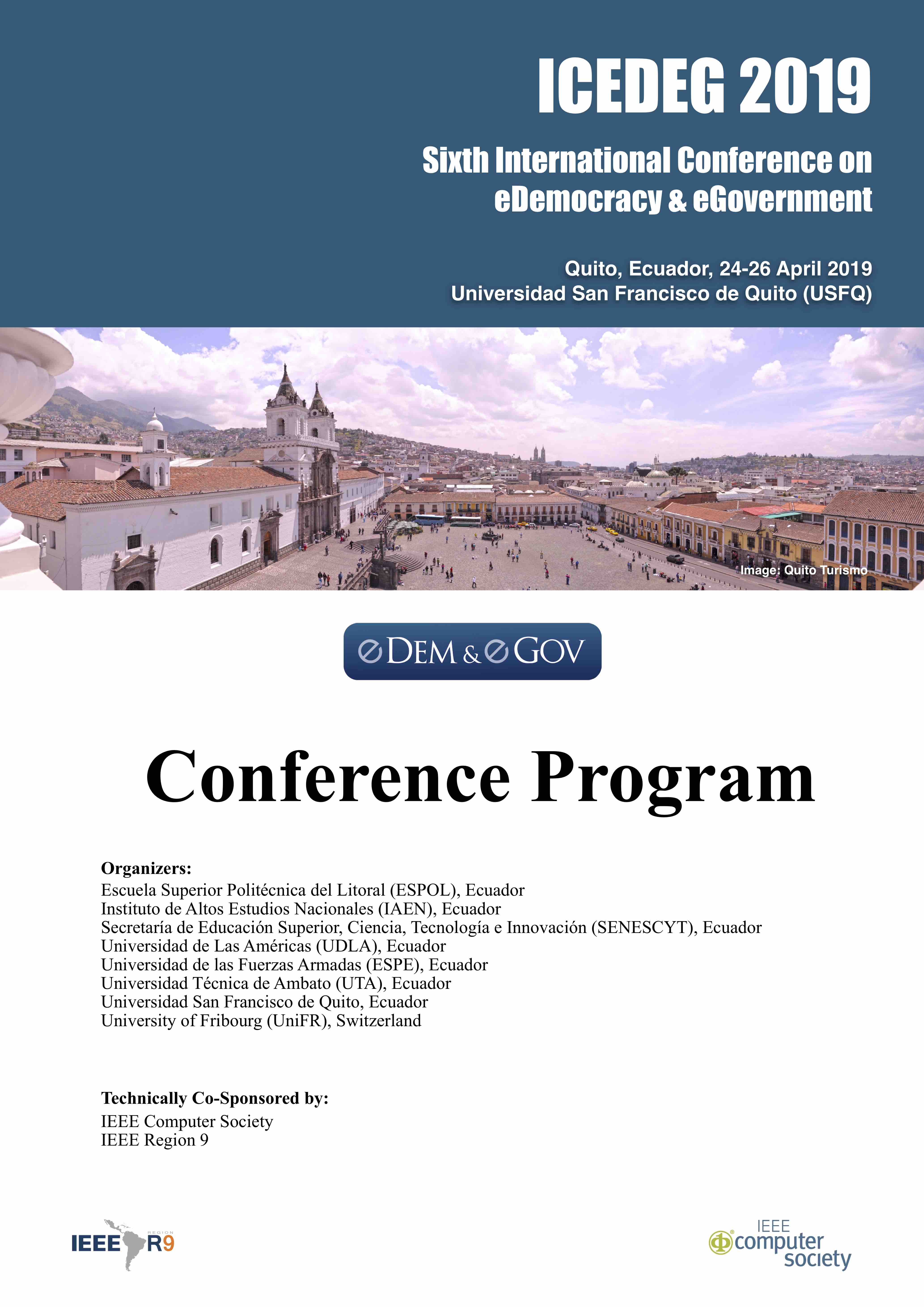 Conference Program | International Conference on eDemocracy